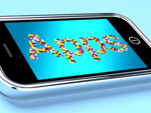 Mobile Phone Apps Applications On Smartphone