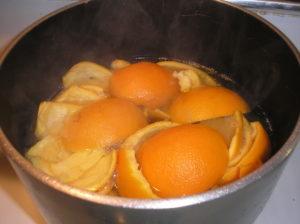 orange rinds